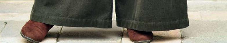 bas de pantalon large pour femme